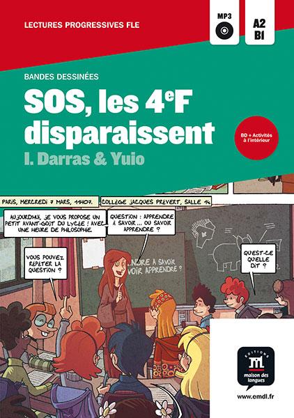 SOS les 4F disparaissent stripboek Frans A2-B1 jongeren