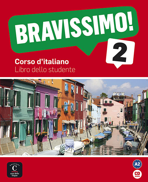 Bravissimo! 2 cursus Italiaans A2