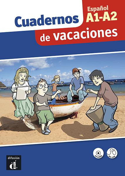 Cuaderno de vacaciones A1-A2 + CD Spaans voor jongeren