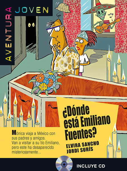 donde esta emiliano fuentes leesboekje Spaans A1 middelbare scholier
