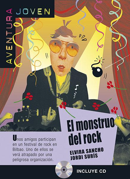 El monstruo del rock leesboekje Spaans middelbare school A2