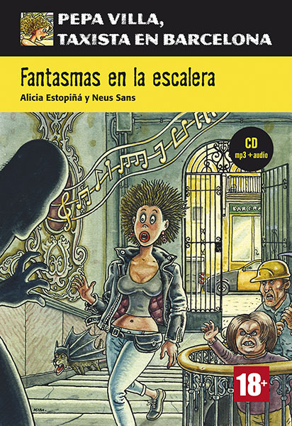 Pepa Villa gantasmas en la escalera Spaans leesboekje A1-A2