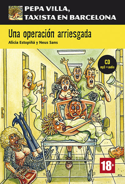 Pepa Villa una operacion arriesgada leesboekje Spaans B1