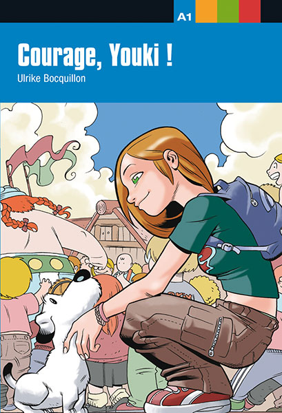 courage youki ! leesboekje Frans jongeren A1