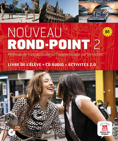 Nouveau Rond-Point 2 Tekstboek