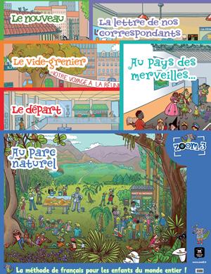 Zoom 3 posters basisonderwijs Frans