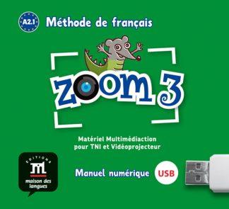 Zoom 3 USB stick Frans basisonderwijs A2.1