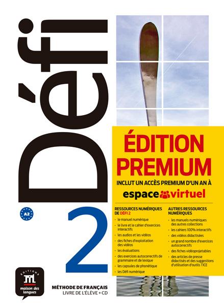 Défi 2 - Livre de l'élève + CD Version Premium