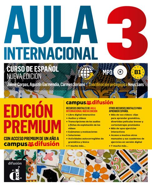 Aula Internacional 3 Nueva edición Libro del alumno + CD (Versión Premium)