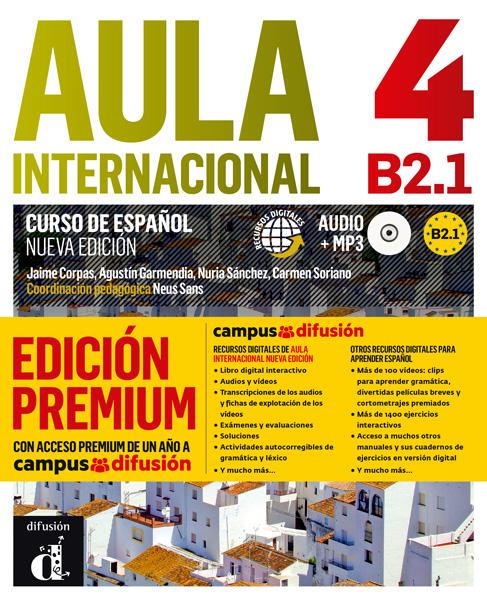 Aula Internacional 4 Nueva edición Libro del alumno + CD (Versión Premium)