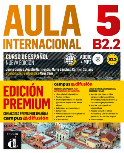Aula Internacional 5 Nueva edición Libro del alumno + CD (Versión Premium)