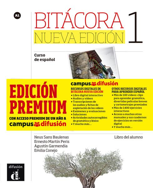 Bitácora 1 Nueva Edición - Libro del alumno + MP3 (Versión Premium)