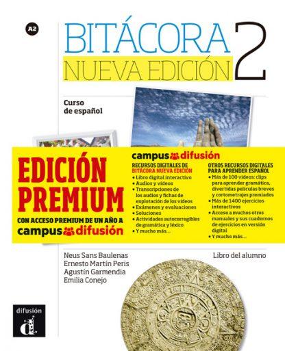 Bitácora 2 Nueva Edición - Libro del alumno + MP3 (Versión Premium)