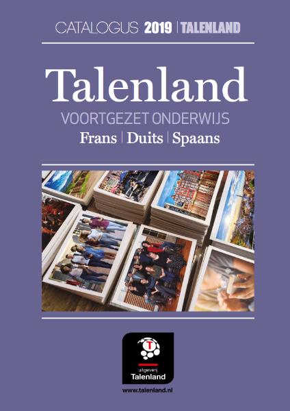 Talenland Catalogus 2019 Voortgezet Onderwijs